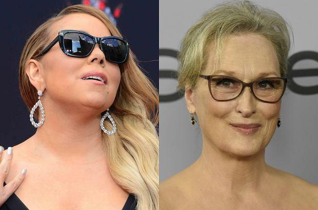 Mariah Carey uwielbia gwiazdorzyć i przeważnie uchodzi jej to na sucho. Ale podsiadanie Meryl Streep to numer, który nie przeszedł nawet u niej.