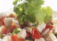 Sałatka rybna Ceviche - ugotuj
