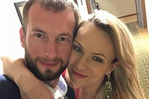 Anna Guzik z mężem, Wojciechem Tylką