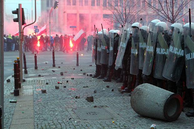 Zadymy na Marszu Niepodleg�o�ci