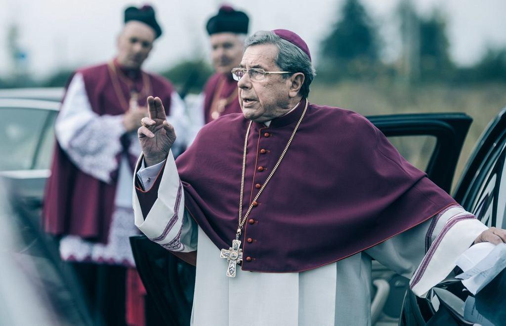Kadr z filmu 'Kler' w reż. Wojciecha Smarzowskiego.