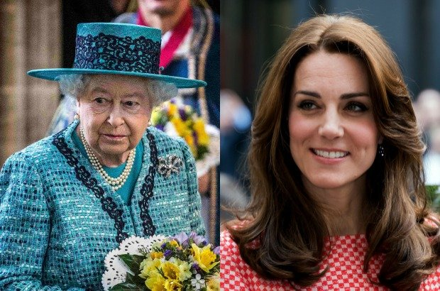 Królowa Elżbieta / Księżna Kate