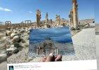 """Tak wygląda starożytna Palmira po odbiciu z rąk dżihadystów. Powalające zdjęcia """"przed i po"""""""