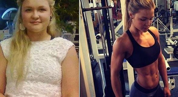 Sophia Thiel. Od zakompleksionej dziewczyny z nadwagą do seksownej modelki fitness