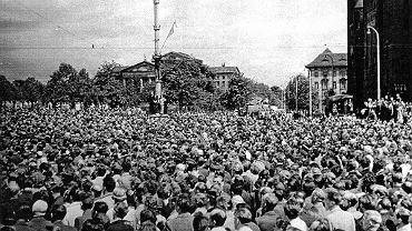 Czerwiec 1956 - poznańskie powstanie przeciw władzy PRL