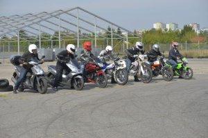 Motocykle 125 ccm dla kierowc�w aut | Test