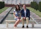 Ksi�na Kate i ksi��� William zwiedzili Taj Mahal. Oddali wyj�tkowy ho�d ksi�nej Dianie