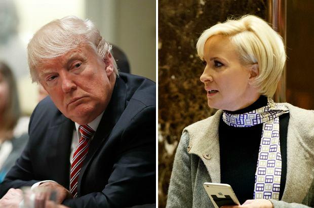 """""""Mika Brzezinski to wariatka o niskim IQ"""". Trump znów obraża na Twitterze. W Waszyngtonie oburzenie"""