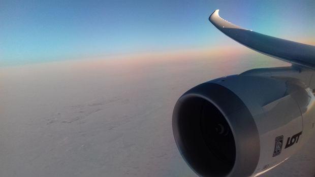 LOT-owski samolot Boeing 787-9 Dreamliner