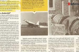 """""""Konkordski"""". Sowiecki kuzyn Concorde'a"""