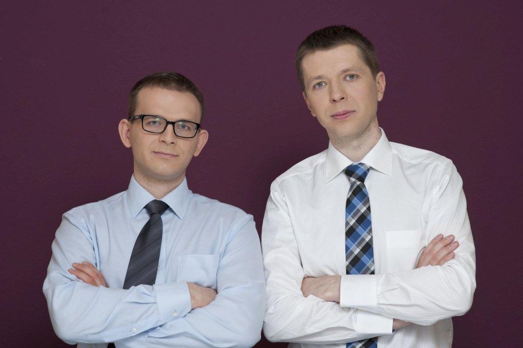 Michał i Łukasz przyznają dziś, że zakładając kantor nie mieli pojęcia o biznesie (fot. Magda Olek)