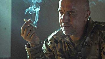 Zachar Prilepin w kadrze z filmu 'Phone Duty'