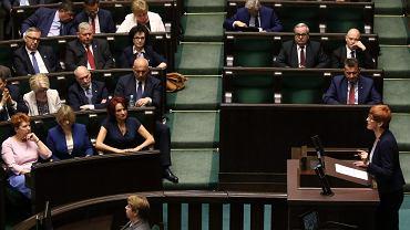 62 posiedzenie Sejmu VIII Kadencji. Posłowie głosują m. in. nad zmianą ustawy o rencie socjalnej. Warszawa, 9 maja 2018