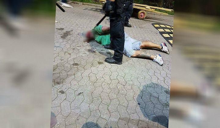 Kibice zamieścili na Facebooku zdjęcie Polaka pobitego w Danii