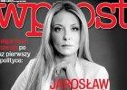"""Ma�gorzata Rozenek na ok�adce """"Wprost"""". Internauci kpi�: Sprz�taczka z TVN bawi si� w polityk�"""