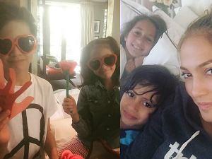 Jennifer Lopez z dziećmi