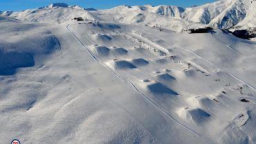 Snowpark na Mottolino