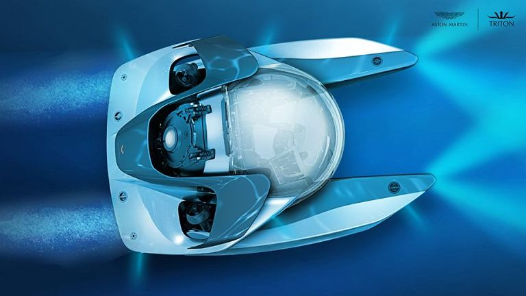 Brytyjski producent luksusowych samochodów Aston Martin chce zbudować ekskluzywną łódź podwodną