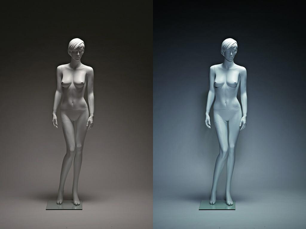 Po lewej: złe światło; po prawej: odpowiednie; fot. Pawel Kiszkiel / Agencja Gazeta