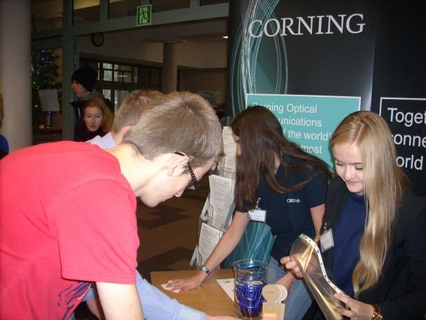 Corning Day na Politechnice ��dzkiej