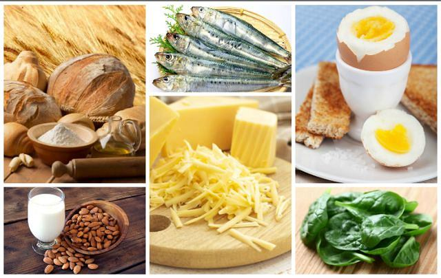 Niektóre źródła wapnia w pożywieniu mogą zaskakiwać (tabela poniżej)