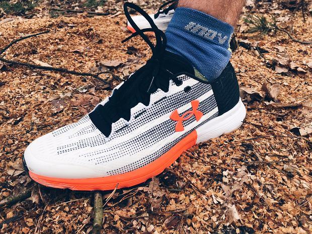 test butów do biegania, under armour bieganie