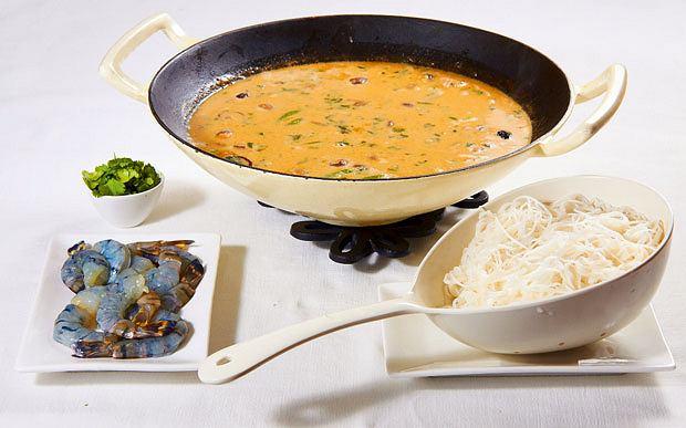 kuchnia, kuchnie świata, Kuchnie świata: zupa tajska