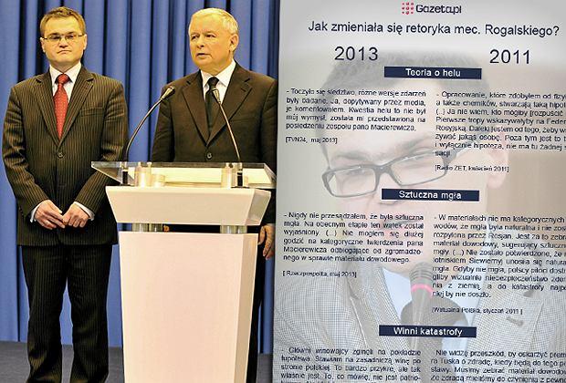 W ostatnich dniach Rafa� Rogalski, wieloletni adwokat Jaros�awa Kaczy�skiego zmieni� zdanie ws. Smole�ska