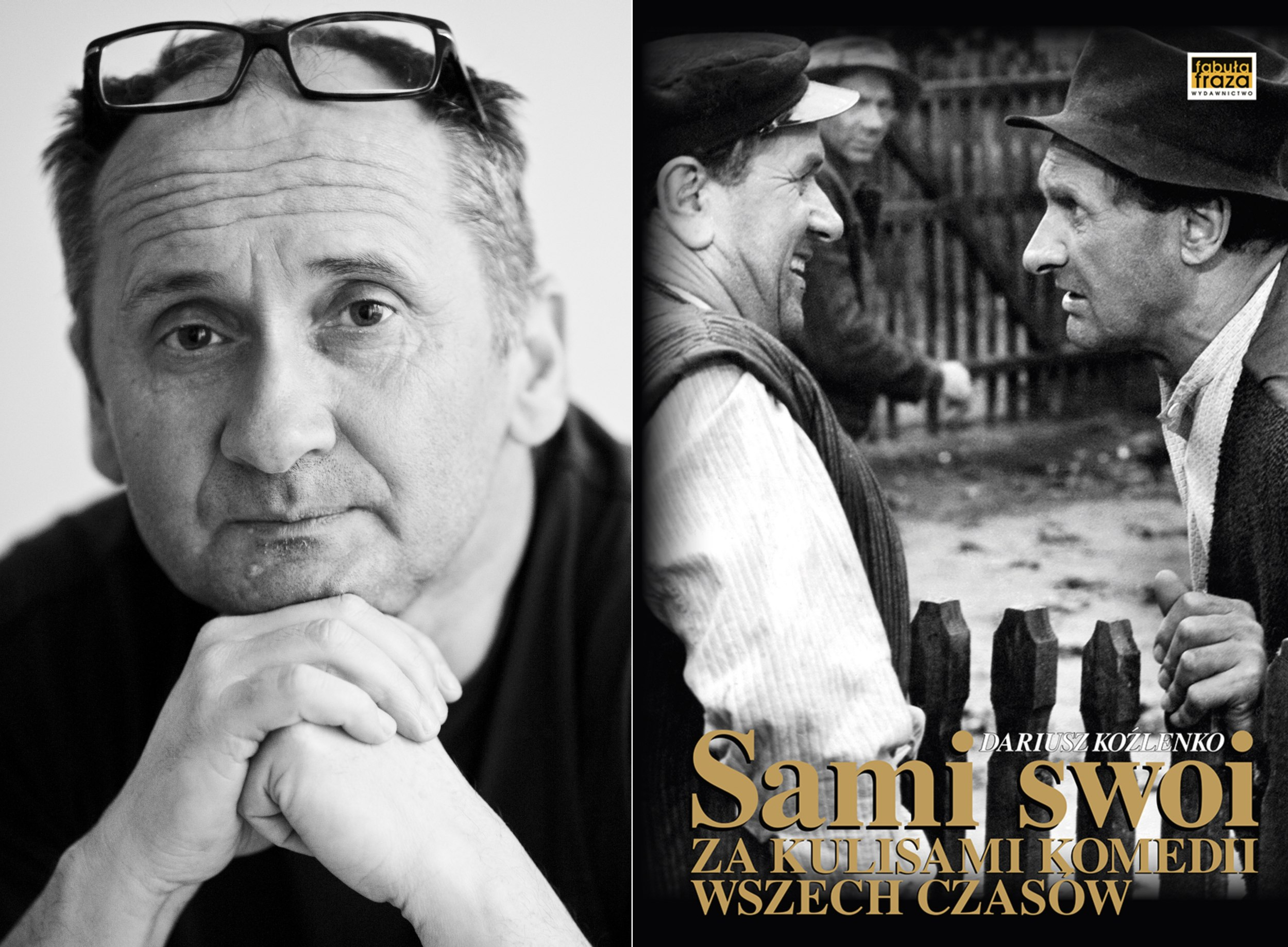 Dariusz Koźlenko i jego książka (fot. materiały prasowe)