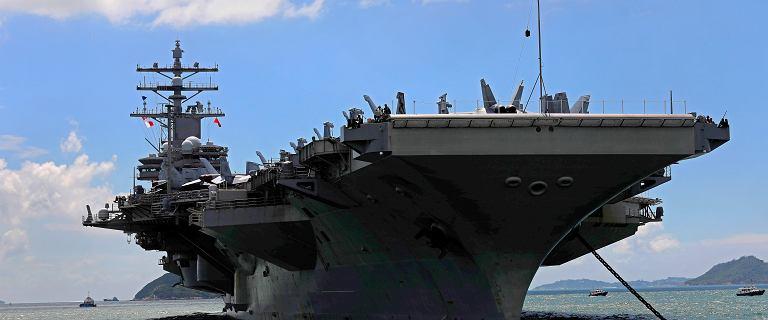 Amerykański śmigłowiec rozbił się na lotniskowcu USS Ronald Reagan. Jest wielu rannych