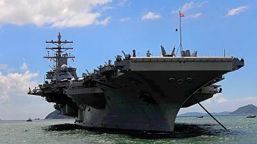 Lotniskowiec USS 'Ronald Reagan'