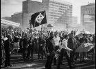 """Powstanie warszawskie """"uczcili"""" celtyckim krzyżem. Nacjonaliści popełnili przestępstwo?"""