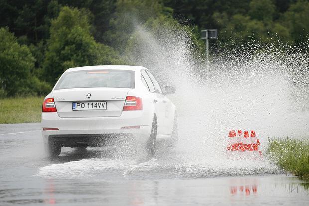 Jazda w czasie deszczu