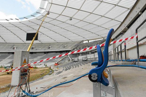 Modernizacja Stadionu Śląskiego wreszcie zbliża się do końca