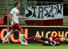 Jakub Wawrzyniak w meczu Polska - Anglia (1:1)