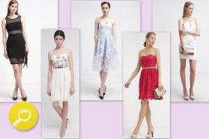 Sukienki na upalne wesele - 15 propozycji