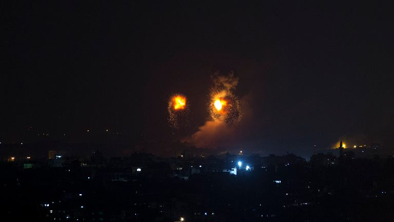 Izraelskie naloty w Strefie Gazy