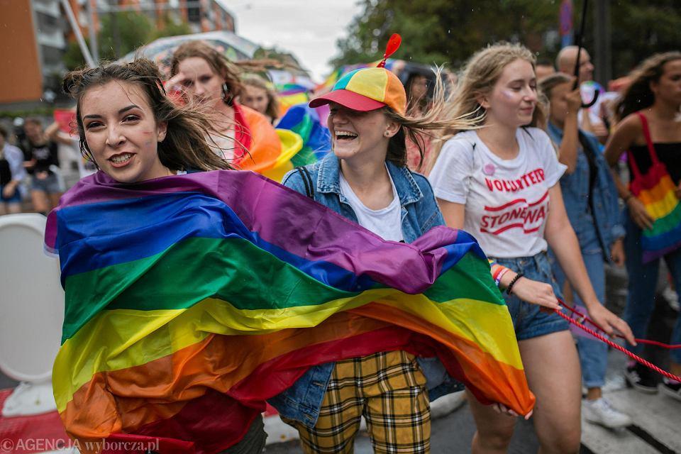 11 sierpnia 2018 r. Marsz Równości przeszedł przez Poznań