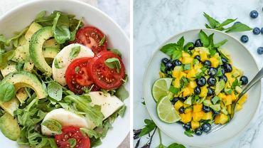 Ekspresowa sałatka do doskonały pomysł na lunch i kolację
