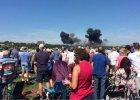 Katastrofa my�liwca na pokazach lotniczych w Brighton