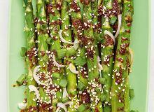 Szparagi po koreańsku - ugotuj