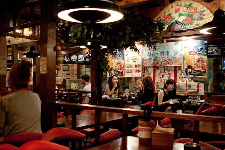 Restauracja w Seulu