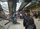 Wypadek kolejowy w New Jersey. 100 osób rannych