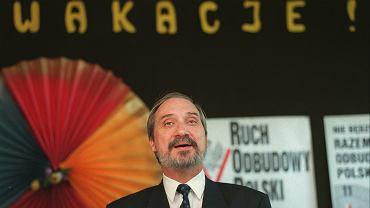 Na zdjęciu: Antoni Macierewicz