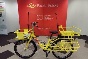 Poczta testuje rowery dla listonoszy. Tak wyglądają