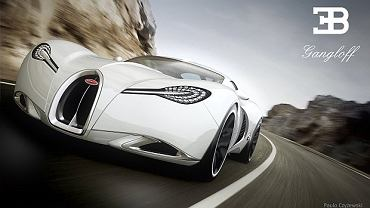 Bugatti Gangloff Concept - Paweł Czyżewski