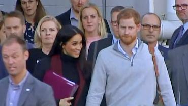 Meghan Markle i książę Harry w Sydney