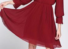 Burgund - najmodniejsze sukienki w jesienno-zimowej barwie