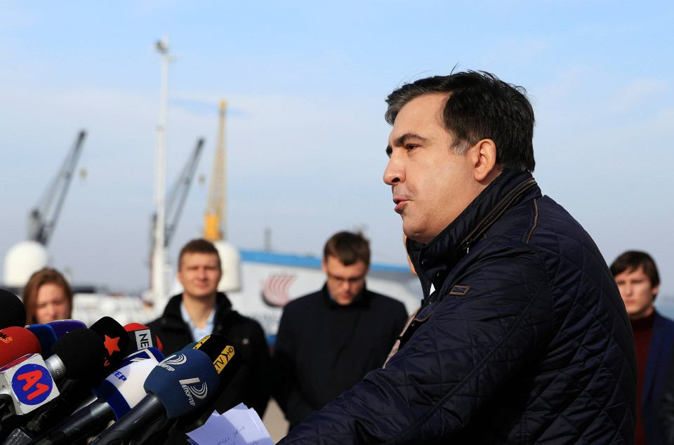 Micheil Saakaszwili, niegdyś prezydent Gruzji, teraz gubernator w Odessie, podał się do dymisji