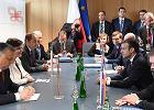 Emmanuel Macron na spotkaniu z premierami Grupy Wyszehradzkiej powtórzył zarzut, że niektóre kraje traktują UE jak supermarket